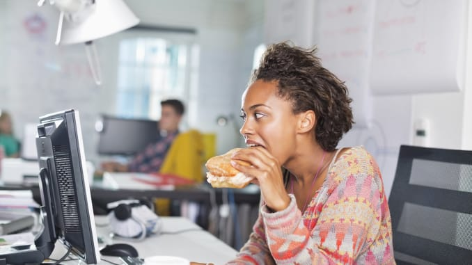 6 Things About Eating At Your Desk You May Not Have Known