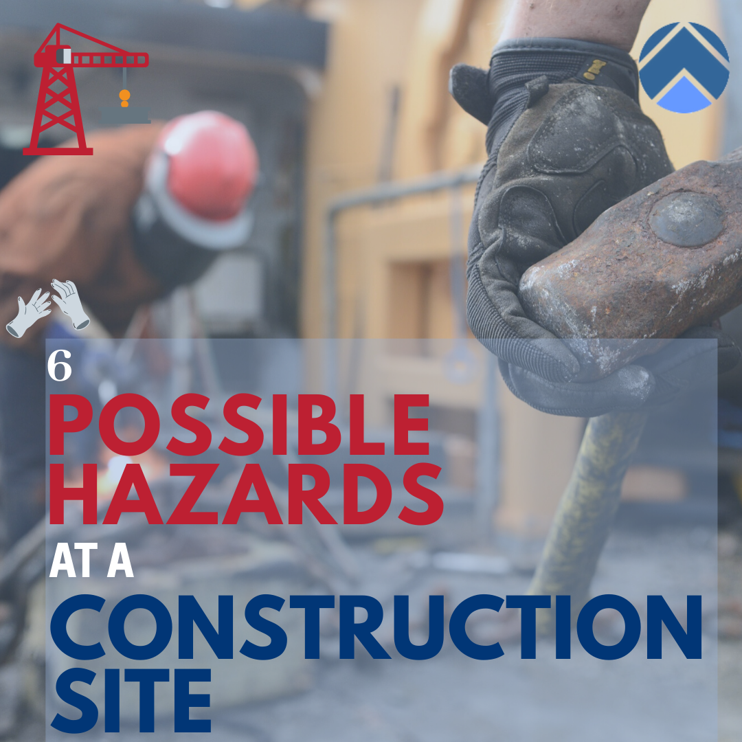 possible hazards at a construction site