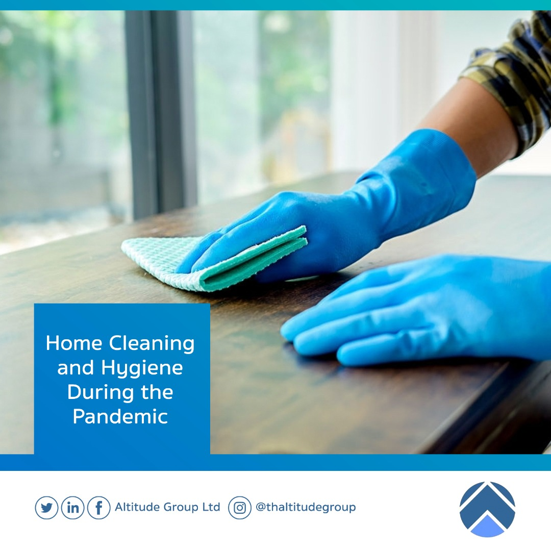 CORONAVIRUS: HOME CLEANING AND HYGIENE DURING THE PANDEMIC